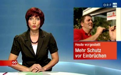 ORF Beitrag zum Thema Einbruchschutz